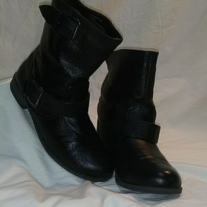Rampage Black Ankle Boots